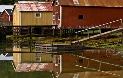 rorbu-maison-de-pecheur-fjord-Norvège