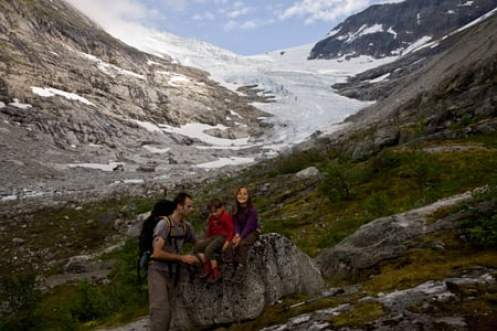 voyage-en-famille-et-glacier-Bodalsbreen-Norvège