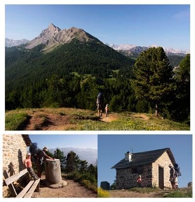 randos-famille-Queyras-alpes sommet du Buchet