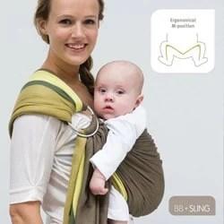 écharpe-de-portage-pour-bébé