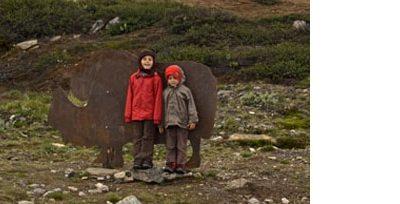 randonnée-enfant-famille-norvège-dovrefjell