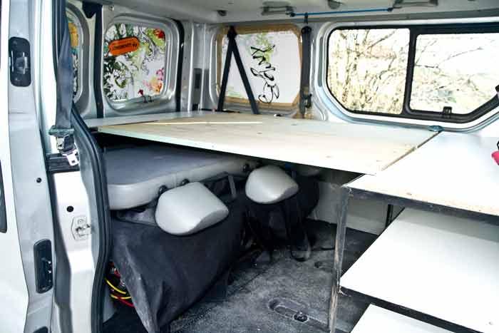 Fourgon Amnag En Camping Car Avec Un Petit Budget Voyage