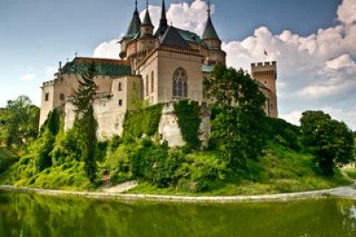 voyage-famille-enfant-château-de-Bojnice-Slovaquie