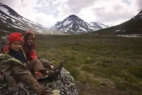 enfant-randonnée-norvège