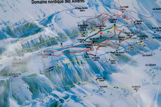 carte Vercors randonnée