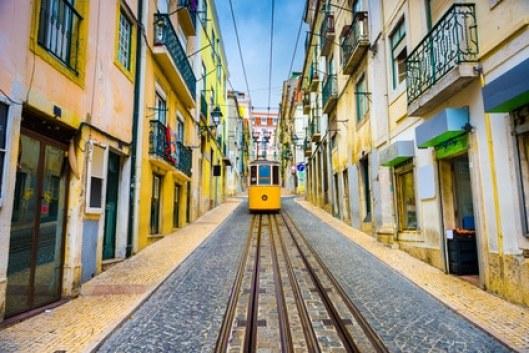 Lisbonne, Portugal tramway