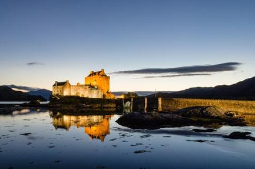 Eilean Donan chateau écosse