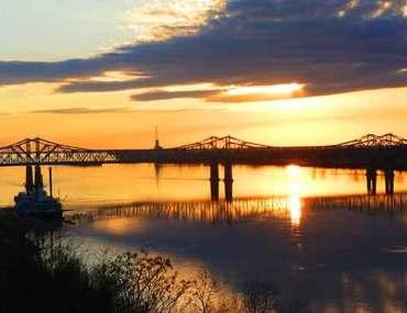 coucher-de-soleil-Etats-unis-pont-louisiane