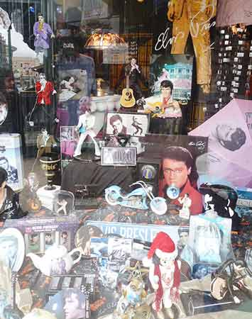 memphis-Etats-unis-vitrine-Elvis-Presley