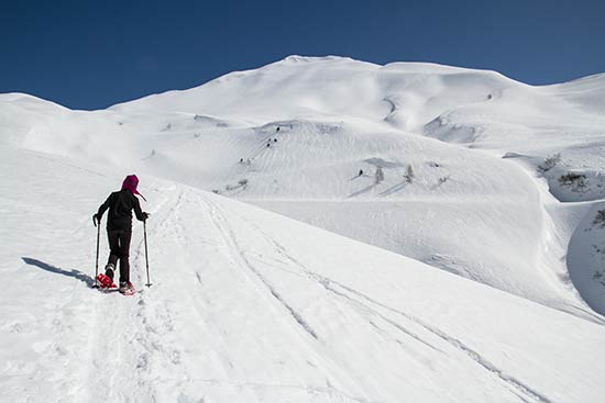 raquette-à-neige-enfant-alpes