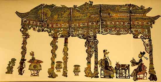 musée-de-l'Orient-lisbonne-marionnette-en-papier