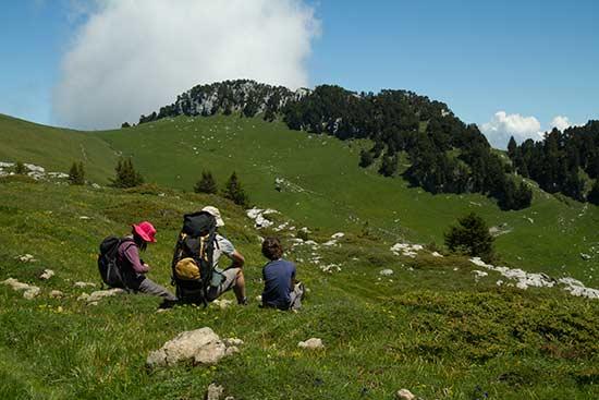 randonnée-chartreuse-avec-enfanst-croix-de-l'alpe