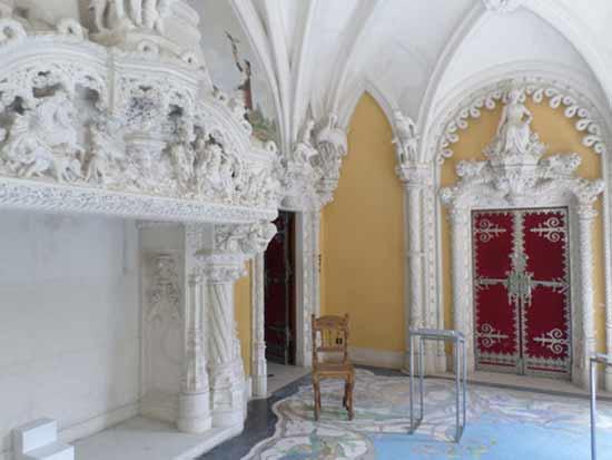 interieur-palais-de-la-regaleira-sintra-au portugal