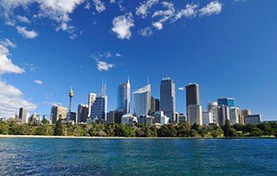 australie-sydney-vue de mer