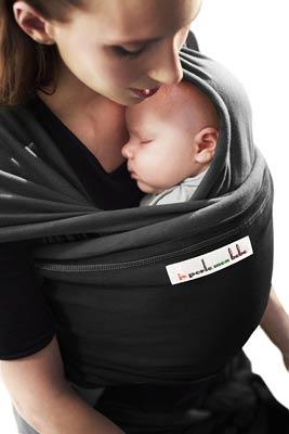 écharpe-de-portage-élastique je-porte-mon-bébé