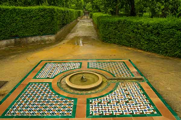 jardin-Alcazar-del-rey-Séville-Andalousie-espagne