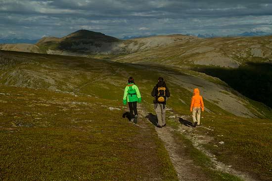 randonnée-en-Laponie-famille
