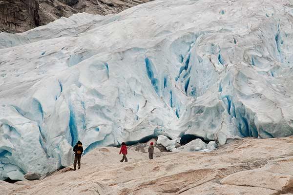 glacier-Nigardsbreen-Norvège-avec-enfants-voyage