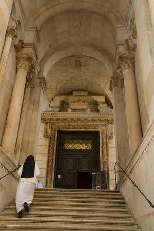 Split-Croatie-famille-cathédrale
