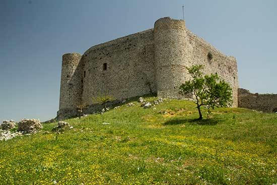 Grèce-en-famille-Chateau-de-Chlémoutsi