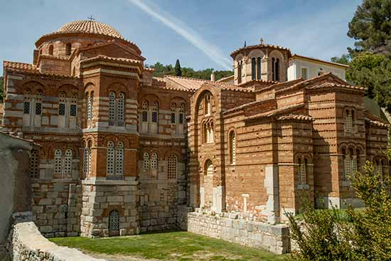 grece-en-famille-Monastère-d'Osios-Loukas