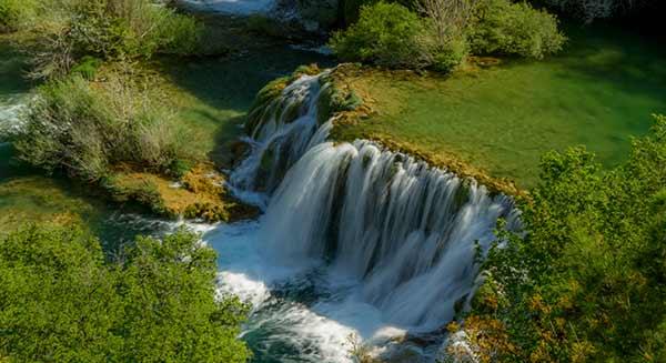 ou-aller-en-croatie-en-famille-cascades-Skradin