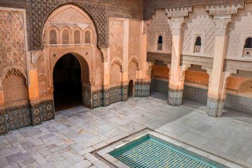 marrakech avec enfants medersa