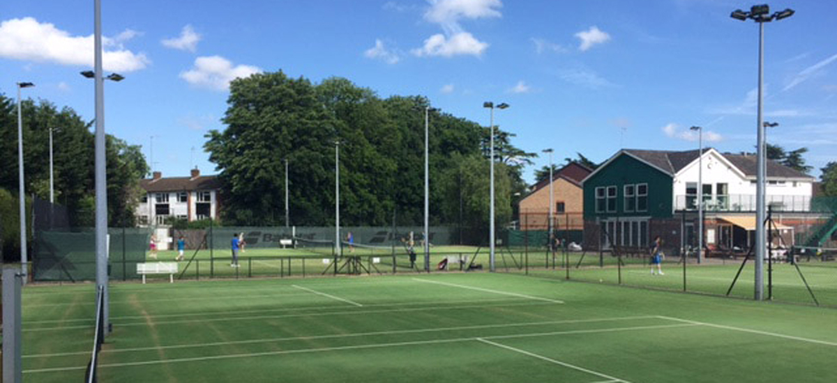 Court5 6 & clubhouse