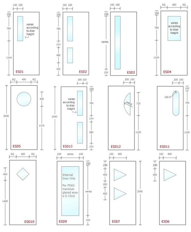 Image Result For Wood Door Glass Panel