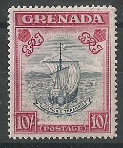 Grenada 1938-50 10s.