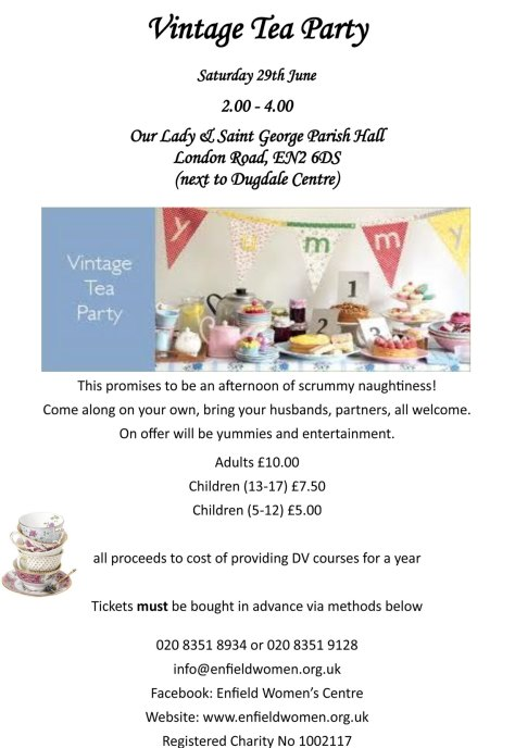 Poster for Tea Party