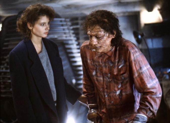 Chris WalasyStephan Dupuisganaron el premio Oscar al Mejor Maquillaje en 1987 por su trabajo en The Fly (1986). Descubre los procesos y efectos especiales empleados en el filme dirigido por David Cronenberg. - ENFILME.COM