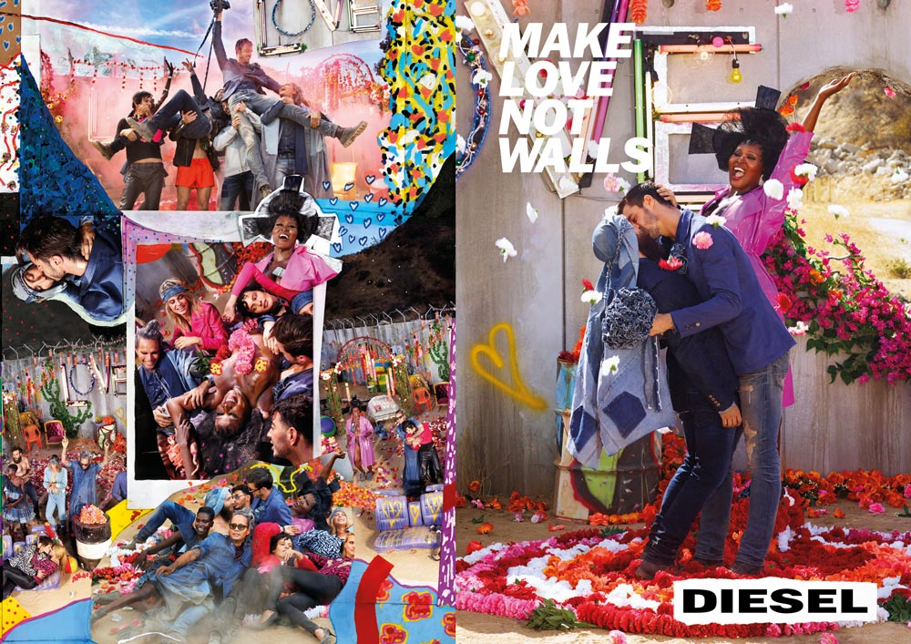 Diesel - Make Love not Walls