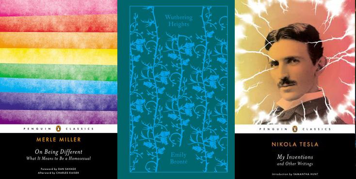 Selección de portadas de libros de la editorial Penguin Ramdom House, sección Penguin Classics. Editoriales que destacan por el diseño de sus libros. La Gauss
