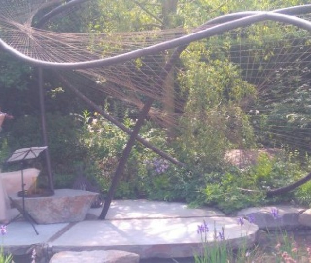 Allan Mcrobies Swallowtail Pavilion Is The Centre Piece Of Garden That Wins Gold At The Chelsea Flower Show