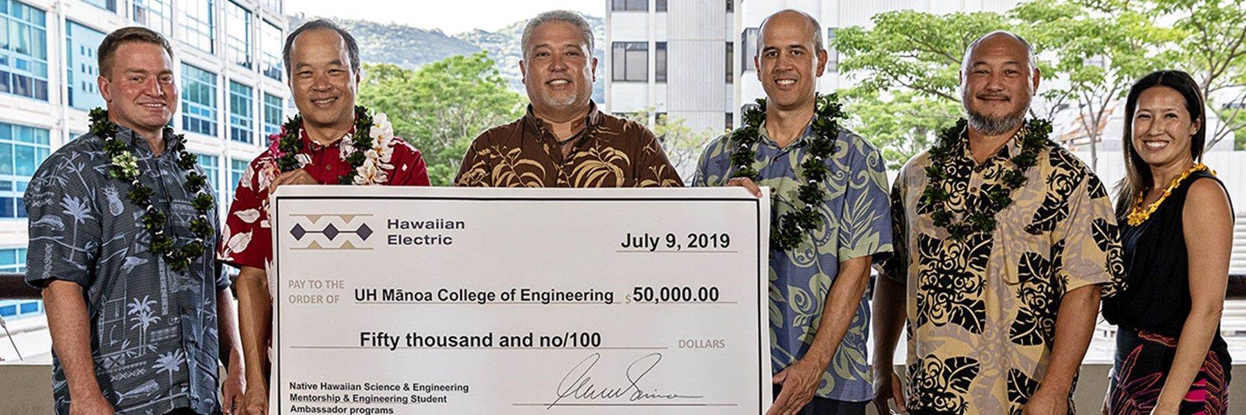 Hawaiian Electric Supports Science And Engineering Students With $50,000 Gift