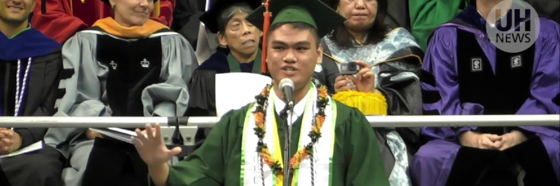 Engineering Graduate Moves Crowd To Tears At Commencement Ceremony