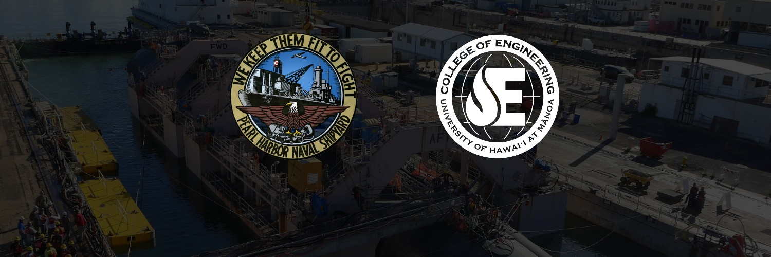 PHNSY And COE Logos Over Image Of Shipyard.
