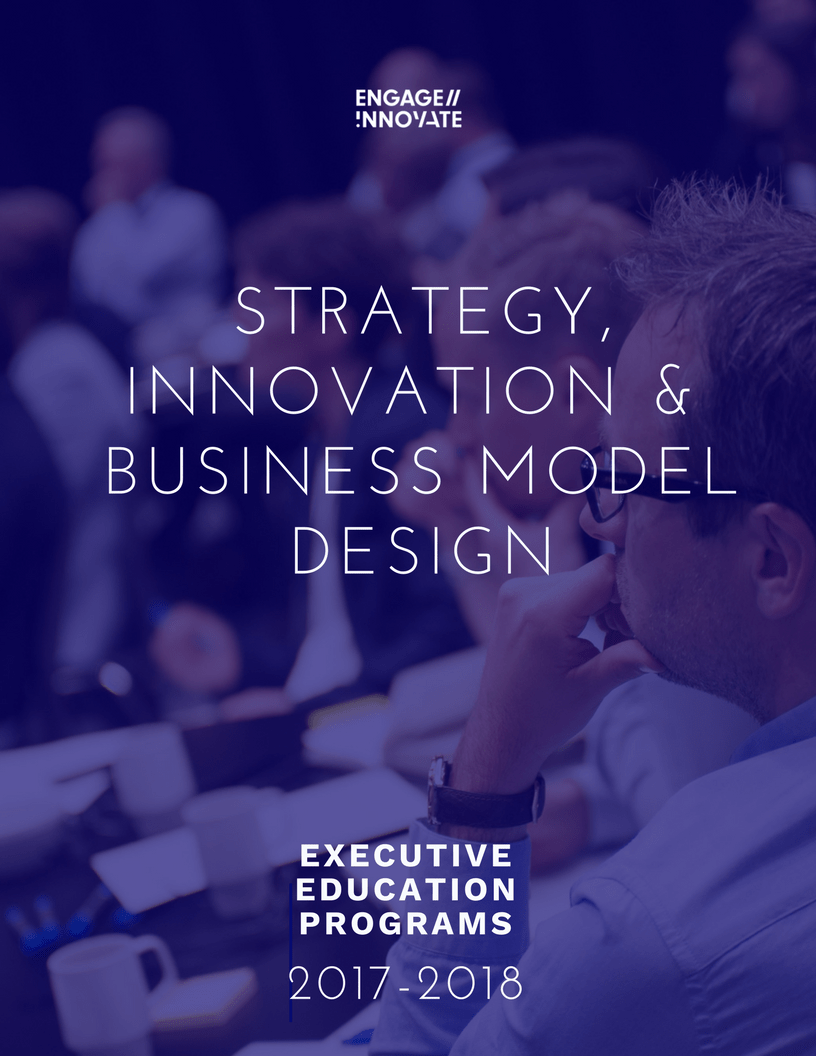 Strategy Innovation & Business Model Design Executive Education