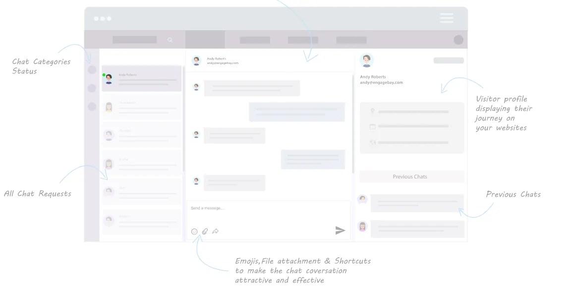 live chat tool  engagebay