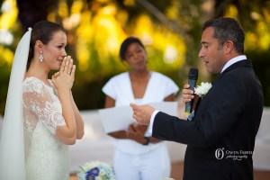 wedding ceremony in Spain