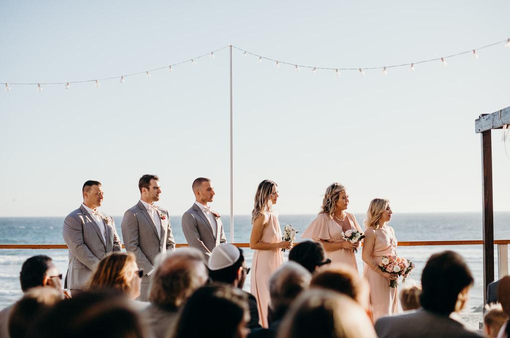Sam and Ashley Malibu beach wedding
