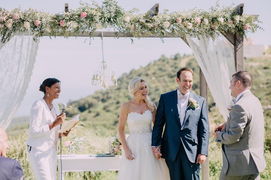 Gemma and James wedding