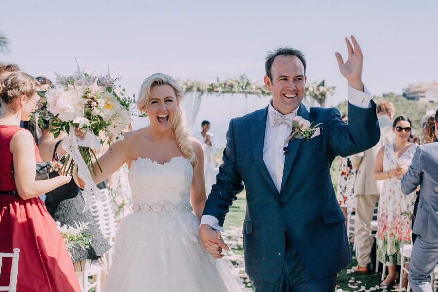 Gemma and James wedding by Radka Horvath