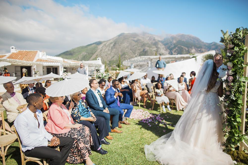 Wedding ceremony by Eloy Muñoz