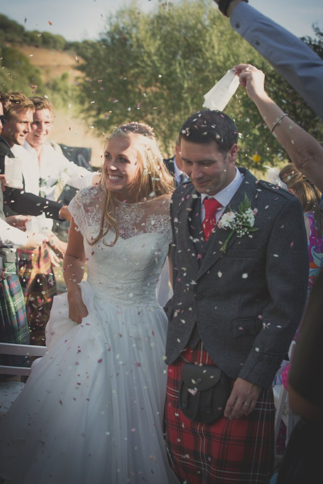 Molly and Ross wedding