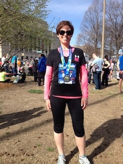 Bethany After Half Marathon