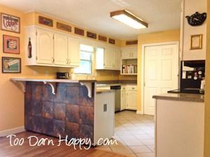 yellow white kitchen diy after wm