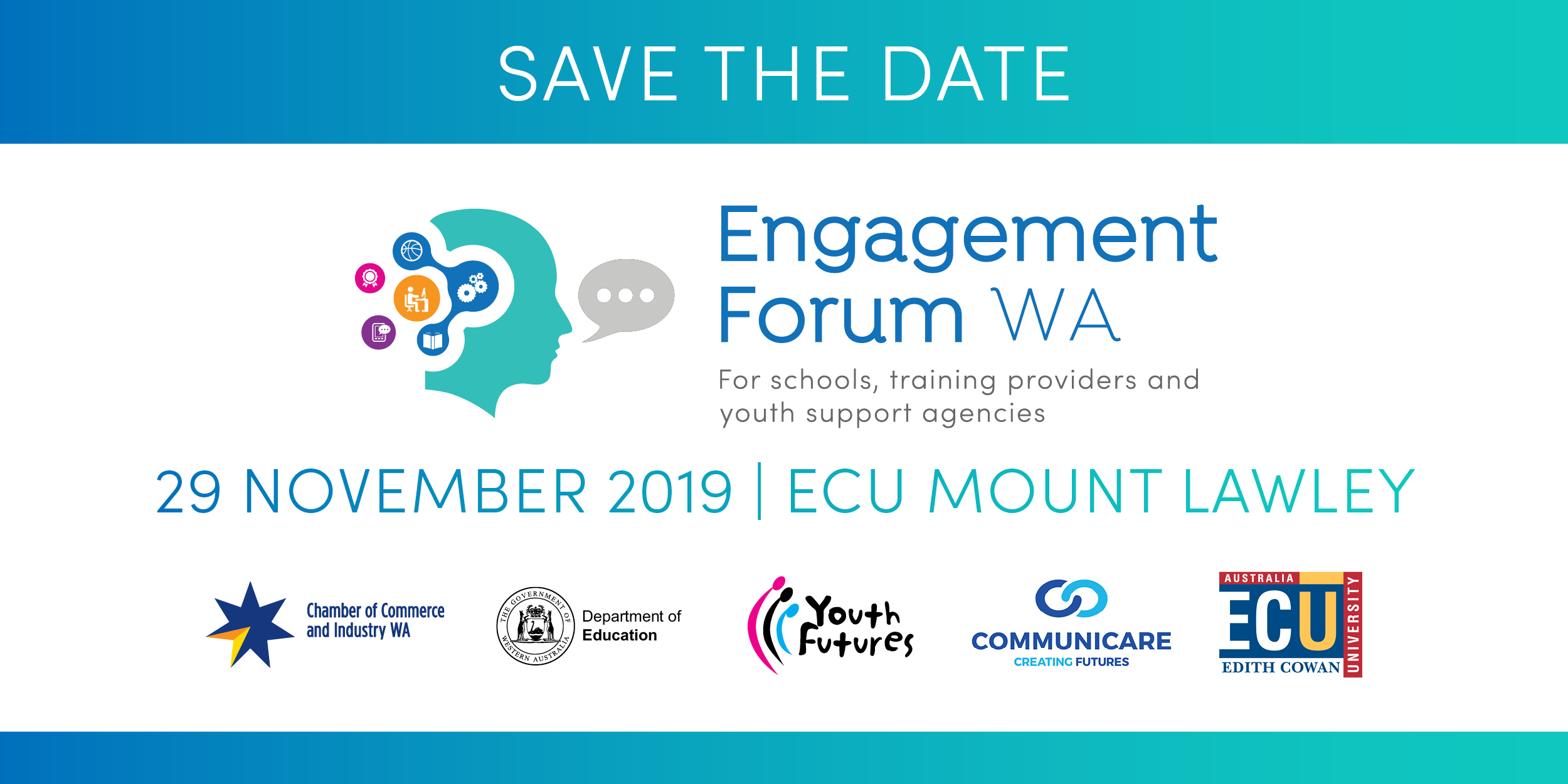 Save The Date – 2019