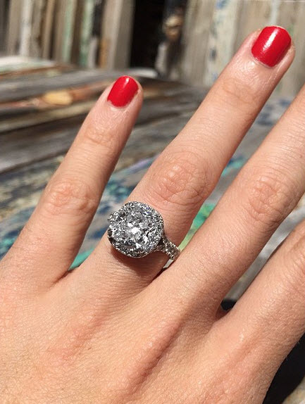 Ricki Lee Coulter's Engagement Ring